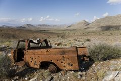 Rusted Truck Stock Image