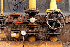 Rusted valve Royalty Free Stock Image