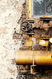 Rusted valve Royalty Free Stock Photo