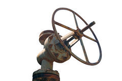 Rusted valve Royalty Free Stock Photos