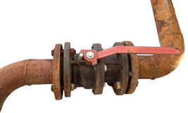 The Rusted valve Stock Images