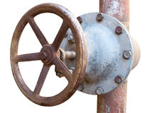 The Rusted valve Stock Photo