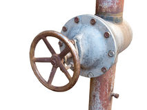 The Rusted valve Stock Photos