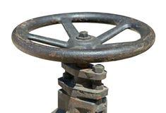 Rusted valve Stock Photo