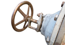 The Rusted valve Royalty Free Stock Photos