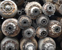 Rusted Vehicle Parts Royalty Free Stock Image