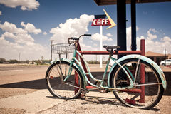 Rusted vintage bike Royalty Free Stock Image
