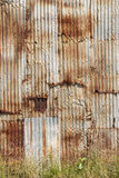 Rusted Wall Stock Photography