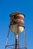 Rusted Water Tower Stock Photography