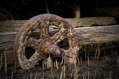 Rusted wheel Royalty Free Stock Image