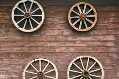 Rusted wheel in Latvia in Sabile town. Rusted wheel in Latvian Sabile town in Zviedru cepure. In winter here's skiing track. But in summer here's summer Royalty Free Stock Photo