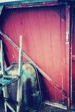 Old wheelbarrow Royalty Free Stock Image
