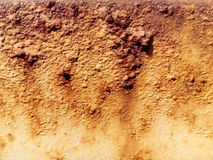 Rusted white painted metal wall Royalty Free Stock Image
