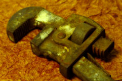 Rusted Wrench Stock Images