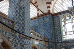 Rustem巴夏清真寺马赛克  库存图片