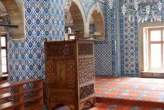 Rustem巴夏清真寺马赛克  图库摄影