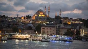 Rustem巴夏清真寺,伊斯坦布尔,土耳其 免版税库存照片