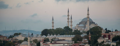 Rustem巴夏清真寺,伊斯坦布尔,土耳其 图库摄影