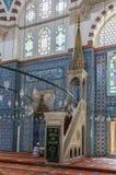 Rustem Pasha Mosque, Istanbul Royalty Free Stock Photos