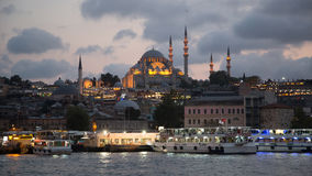 Rustem Pasha Mosque, Istanbul, Turkey. Royalty Free Stock Image