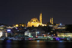 Rustem pasha mosque at night,Istanbul,Turkey. Royalty Free Stock Photos