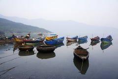 Rustende boten Stock Fotografie