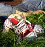 Rustende voet Royalty-vrije Stock Fotografie