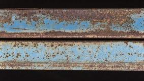 Rustes metalu promienie Obrazy Royalty Free