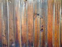 Rustic aged grungy rough wood boards old wooden fence Royalty Free Stock Photo