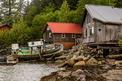 Rustic Alaskan Scene Royalty Free Stock Photo