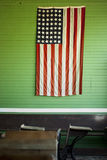 Rustic American Flag Royalty Free Stock Images