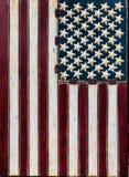 Rustic American Flag Vertical Stock Photos