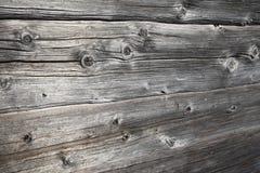 Rustic ancient log wall Royalty Free Stock Photo