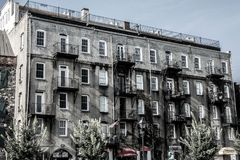Rustic Apartments royalty free stock photos
