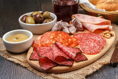 Rustic appetizer Stock Photography