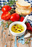Rustic appetizer. Stock Photo