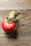 Rustic apple Stock Photography