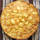 Rustic apple pie Royalty Free Stock Photography