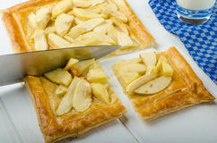 Rustic Apple Tart Royalty Free Stock Photo