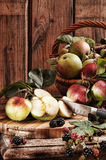 Rustic Apples Stock Image