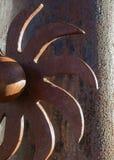 Arizona artwork in rust royalty free stock photo