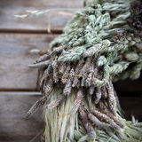 Rustic autumn decoration Royalty Free Stock Images