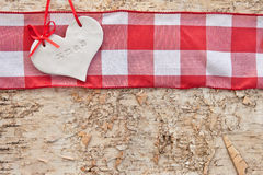 Rustic background for christmas Stock Images