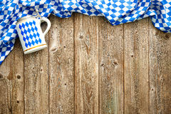 Rustic background for Oktoberfest Stock Images