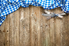 Rustic background for Oktoberfest Royalty Free Stock Images