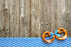 Rustic background for Oktoberfest Stock Photography