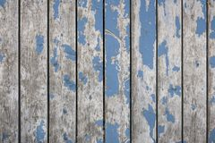 Blue boards background Royalty Free Stock Photo