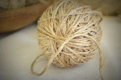 Rustic Ball of Twine Royalty Free Stock Photos