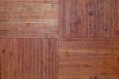 Rustic bamboo texture. Horizontal and vertical lines. royalty free stock photos