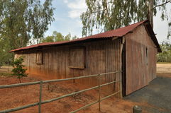 Rustic barn Stock Image